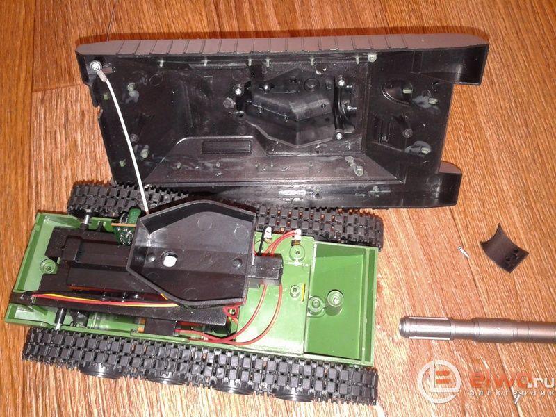 механизм стрельбы игрушечного танка