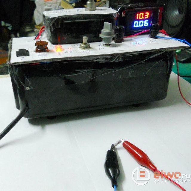 Встраиваемый цифровой ампер - вольт метр