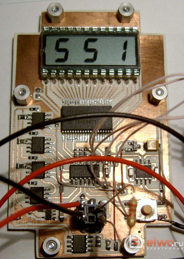 Автоматический измеритель микроампер