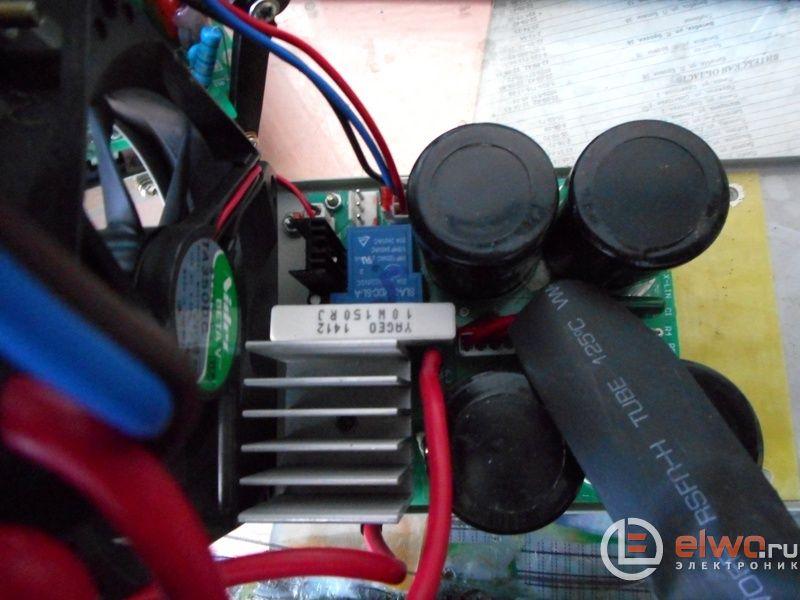 вздувшийся конденсатор 470мкФ в блоке питания