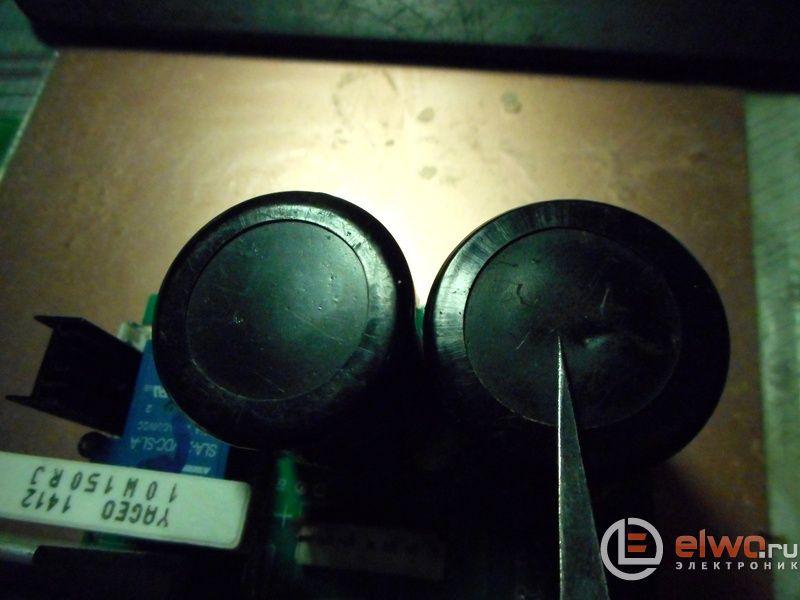 вздувшийся конденсатор в СА ММА