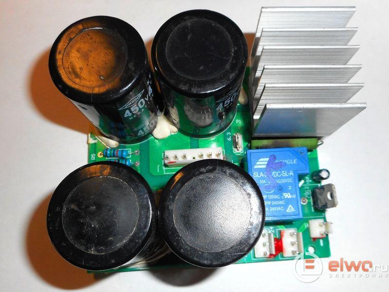 Сварочный аппарат - открутить и проверить БП