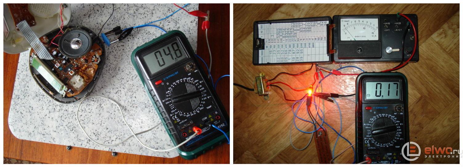 Разборка и ремонт радио-часов Vitek 2