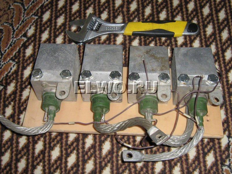 Блок тиристоров ТС160 для выпрямителя
