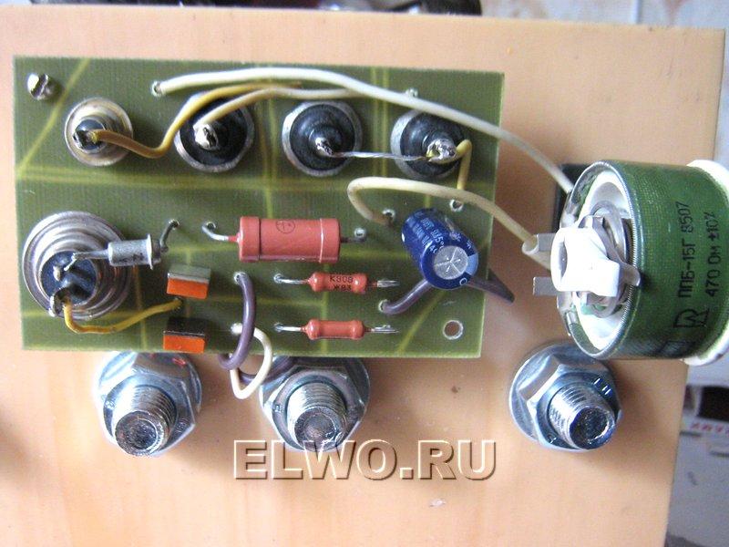 Плата регулятора тока