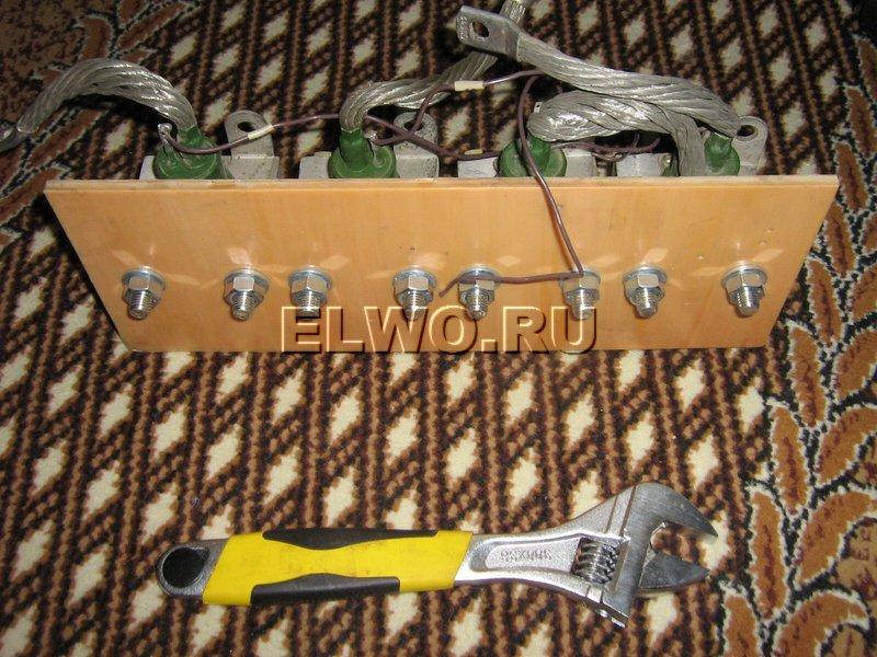 Тиристоры в Сварочный аппарат