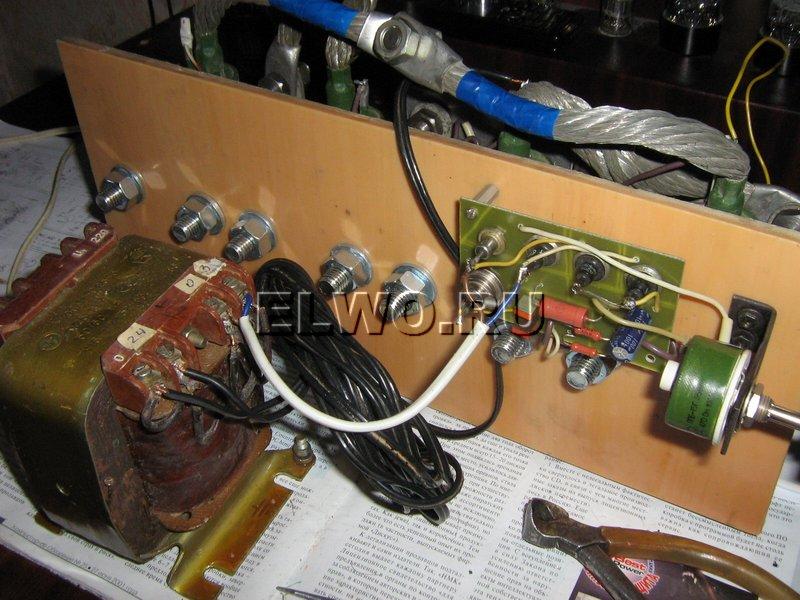 Трансформатор 630 ватт для предварительной проверки