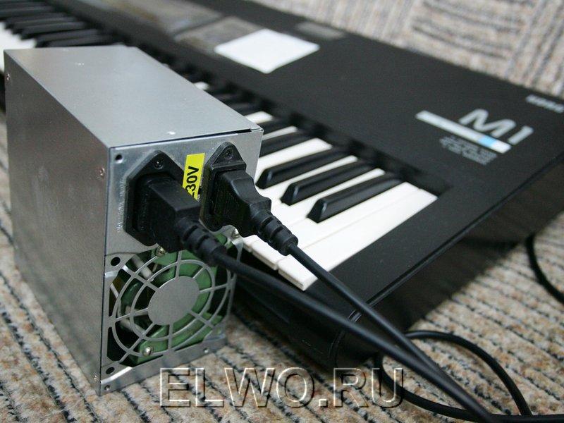 Готовый преобразователь 220/110В нужно поместить в корпус, например от сгоревшего компьютерного блока питания ATX