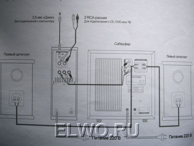 Как разобрать колонку microlab