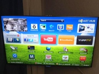 LED телевизор Самсунг ue46es8007u полосы на экране